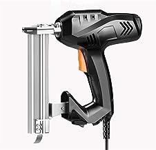 Sdesign Pistola eléctrica de la clavadora eléctrica de Brad Nailer de Mejora del hogar Proyecto de carpintería 2 en 1 Nail & Staple Potente eléctrico eléctrico Grapadora de Trabajo escapadora