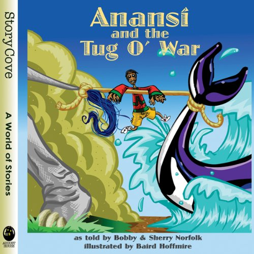 Anansi and the Tug o' War audiobook cover art