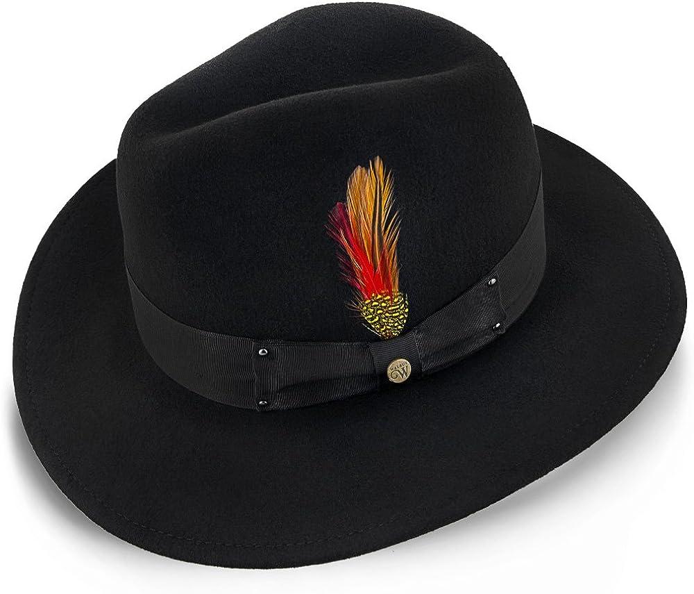 Walrus Hats Empire Wool Felt Fedora Hat - H7001