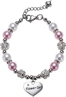 VINJEWELRY Girls Charm Bracelet Handmade Jewelry Gifts