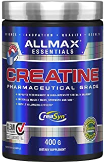 Allmax Pure Micronized Creatine Monohydrate Pharmaceutical Grade 400 Gram Strength