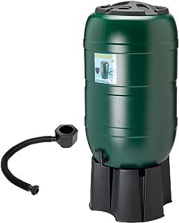 Set de depósito de agua de 210 l que incluye grifo, plataforma y kit de llenado