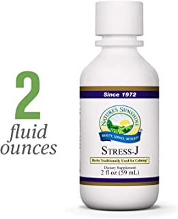 Nature's Sunshine Stress-J, 2 fl. oz. | Herbal Formula Promotes Feelings of Calm, Helps with Occasional Stress, and Supports Digestion