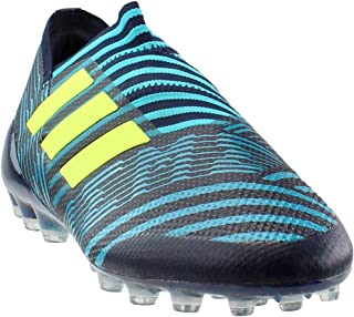 huge discount 4c788 d7073 adidas Nemeziz 17+ 360Agility AG Soccer Cleats (Legend Ink Solar  Yellow Energy