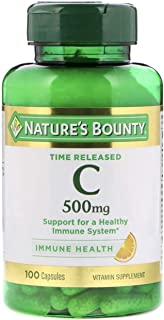 NATURES BOUNTY C 500MG 100 TABLETS 999222-04