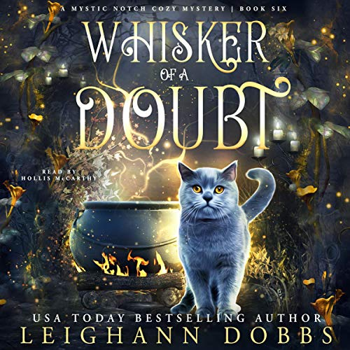 Whisker of a Doubt audiobook cover art