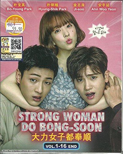STRONG WOMAN DO BONG-SOON - COMPLETE KOREAN TV SERIES ( 1-16 EPISODES ) DVD BOX SETS