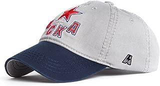 HC CSKA Moscow KHL Cap hat, Gray/Blue