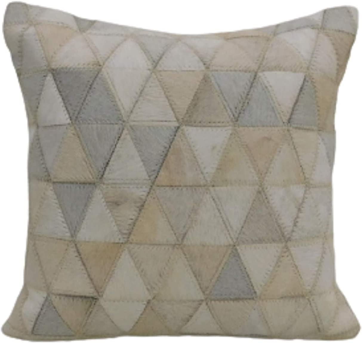 Furniche Hair Free shipping On Leather Cushion Cover Without X Seattle Mall 20 Filler White