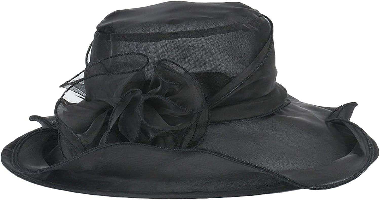 BEELADAN Women's Church Derby Dress Fascinator Bridal Cap British Tea Party Wedding Hat
