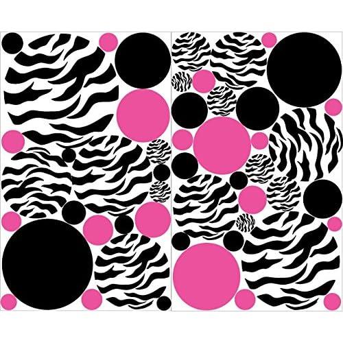 Pink Zebra Decor: Amazon.com