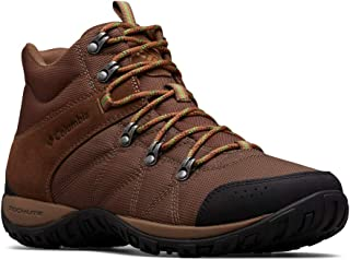 Columbia Mens 1718151 Men's Peakfreak Venture Mid Lt Boot, Breathable, High-Traction Grip Brown Size: