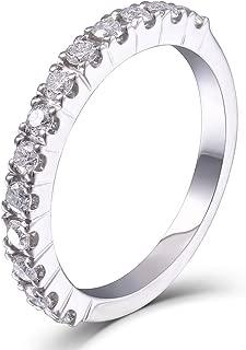 lab created diamond wedding rings