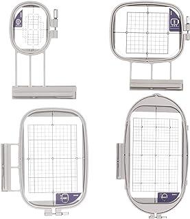 HONEYSEW 4 Hoops for Brother Embroidery Machine Duetta 4500D 4750D Quattro 6000D 6700D SA437 SA438 SA439 SA441