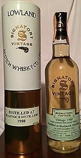 Bladnoch Distillery 12yo Lowland Signatory Vintage 1988 mit Fall Tube 70cl