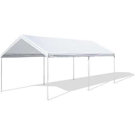 Amazon Com Palram Vitoria Carport Patio Cover 16 X 10 X 8 Garden Outdoor