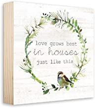 ReLive Decorative Expressions Love Grows Best in House Just Like This 8