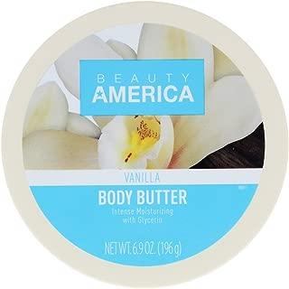 Beauty America Intense Moisturizing Body Butter - Vanilla, 6.9 Ounce