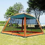 DALTACK Screen House for Outdoors 10Ft x 10Ft Mesh Screen Room Canopy Sun Shelter UPF 50+ Sun...