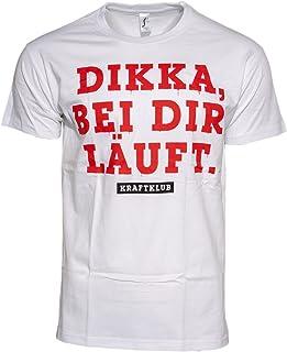 Kraftklub Dikka T-Shirt Weiss