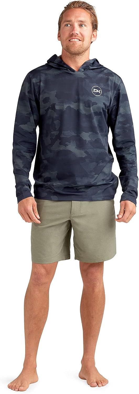 Men's Mission Loose FIT Long Sleeve Hooded Rashguard
