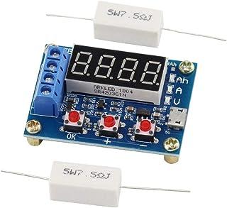 KKHMF ZB2L3 電池容量試験機 外部負荷放電タイプモジュール 1.2-12V 18650バッテリ使用可能