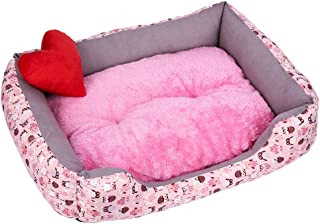 Wouke Pet Bed, Puppy Soft Sofa Dog Bed Mats Warm Kennel Big Cat Cushion House Blanket