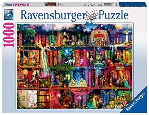 Ravensburger- Magische Märchenstunde 1000 Teile Erwachsenenpuzzle-Von Colin Thompson Puzzle para Adultos, Color Plata (196845)