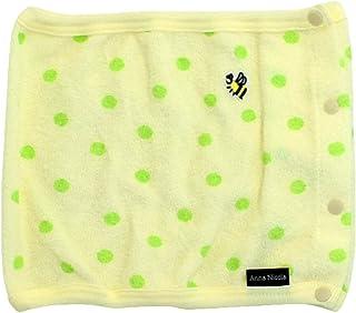 アンナニコラ パイル ベビー腹巻 水玉 グリーン AN11-75 E34 日本製