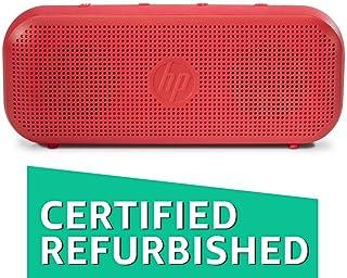 (Renewed) HP 400 Bluetooth Speakers (Red)