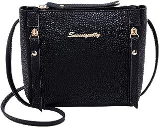 chinatera Crossbody Bags Purses Women's PU Leather Pebbled Shoulder Bag