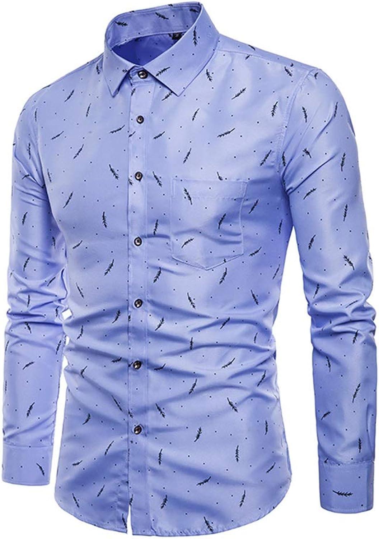Long Sleeve Shirt Men Korean Slim Design Formal Casual Male Dress Shirt Business Shirt Top (color   B, Size   3XL)