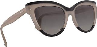dfeb7b7bcf63 Valentino VA 4034 Sunglasses Black Ivory w/Grey Gradient Lens 54mm 509111  VA4034S VA4034/
