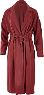 Boho Bird Womens Jackets Got You Covered Jacket Wine - Coats