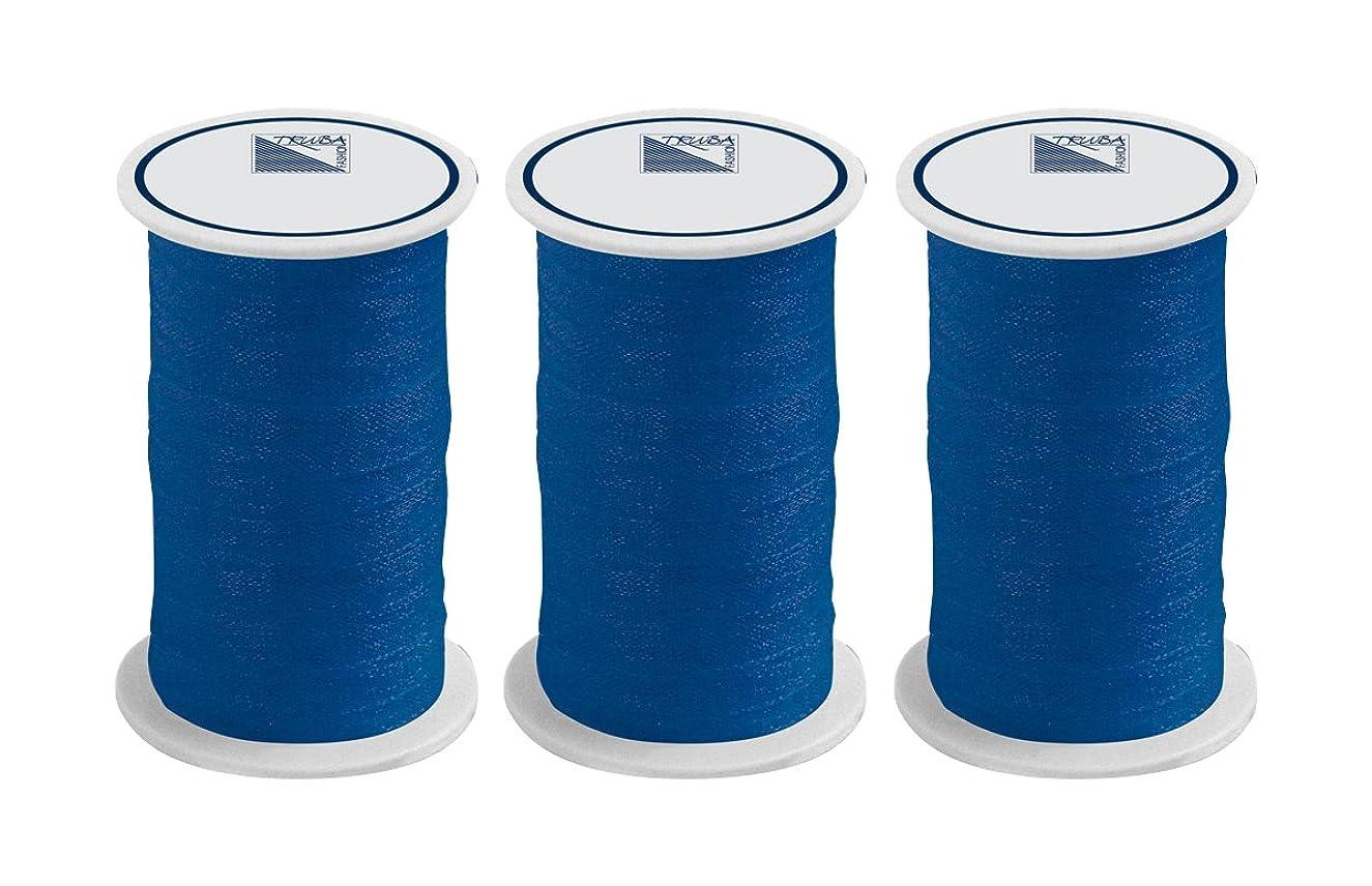 Truba Fashion 0805?7022?0005?Ribbon Polyester 50?x 8.80?x 3.20?cm?–?Blue