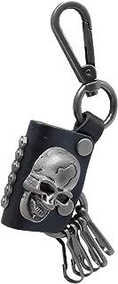 leather skull ring