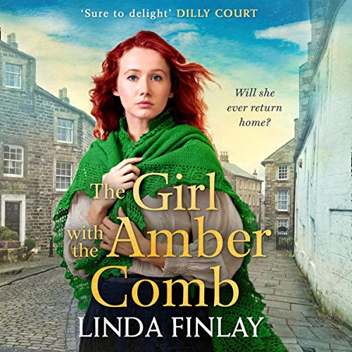Page de couverture de The Girl with the Amber Comb