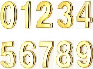 door number stickers