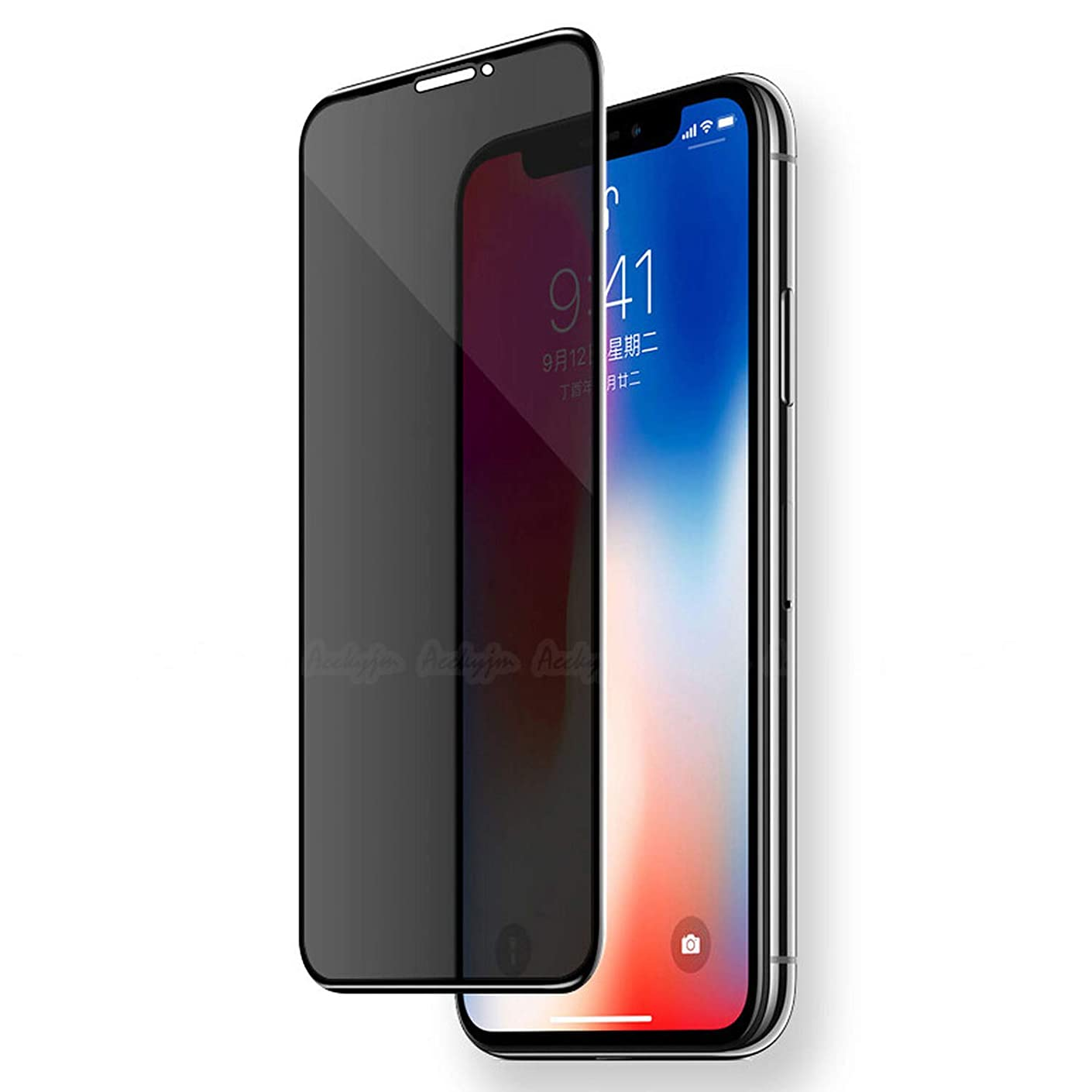 Anti-Spy Tempered Glass for iPhone X New Glass Keep Your Secret for iPhone 7 8 6 Plus Xr Xs Max Screen Protector,for iPhone 7 Plus,Anti-Spy Glass