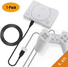 EXINOZ Extension Cable for Playstation Classic Console Controller | Sony PS Classic Mini Cable with 1-Year Replacement Warranty (4.4ft, 1 Pack)