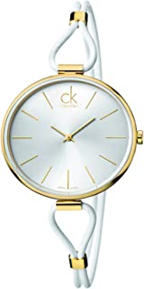 Calvin Klein Womens Analogue Quartz Watch with Stainless Steel Strap