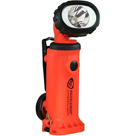 Streamlight 45801 E-Flood Litebox Rechargeable Lantern System with AC//DC Charger Orange Shoulder Strap and Mounting Rack 615 Lumens