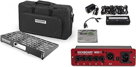 RockBoard QUAD 4.2-24.01in x 12.83in Effect Pedalboard w/Gig Bag, Power Supply