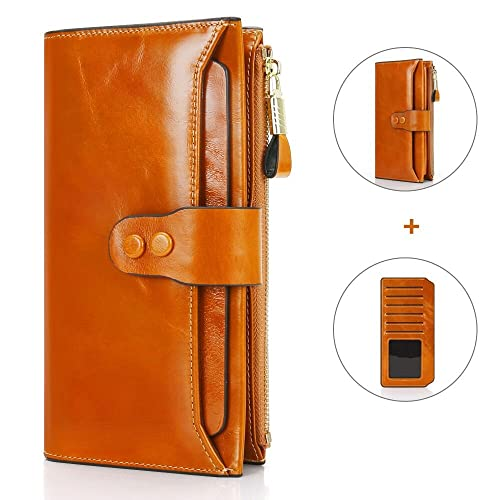4aaad89001e7 Ladies Wallet RFID Scan Proof Wallet with Additional Card Bag