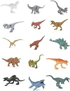 Figuras Jurassic World, 15 unidades, Mattel
