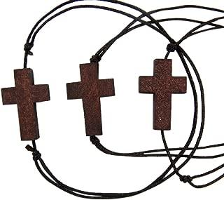 Best wood cross bracelet Reviews