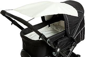 Altabebe AL7010-03 - Parasol con protección UV para carrito o silla de paseo, color beige
