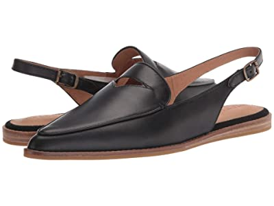 Sperry Saybrook Slingback (Black Leather) Women
