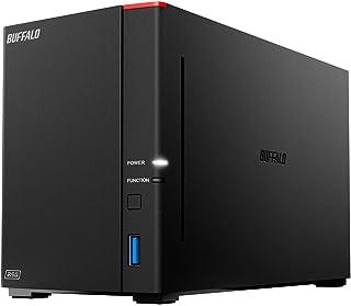 BUFFALO リンクステーション LS720D/N ネットワークHDD 2ベイ 8TB LS720D0802/N