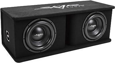 "Skar Audio Dual 10"" 2400W Loaded Sdr Series Vented Subwoofer Enclosure | SDR-2X10D4,.."